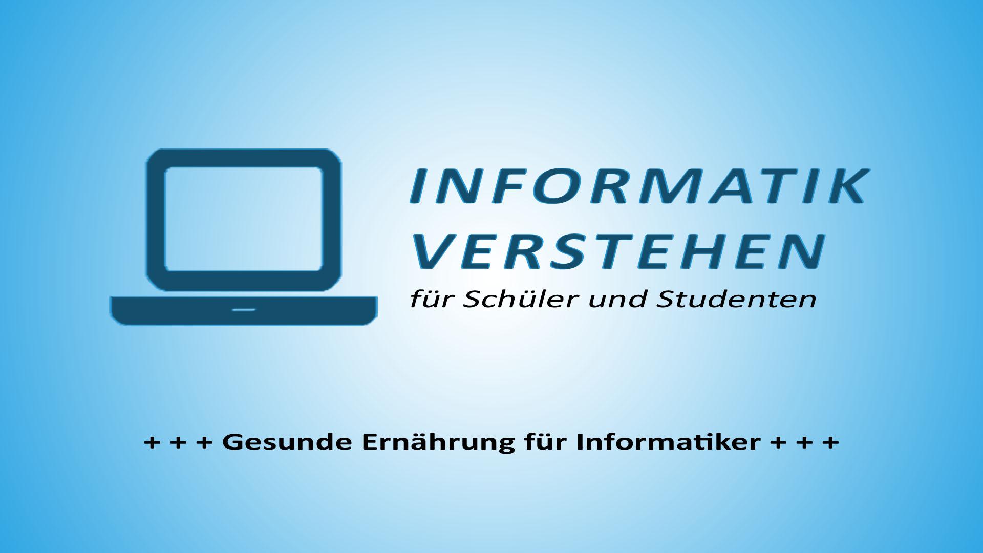 Gesunde Ernährung für Informatiker | Informatik Blog