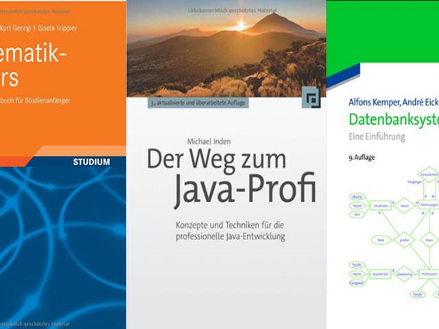 Informatik Bücher für das Informatik-Studium | Informatik Blog