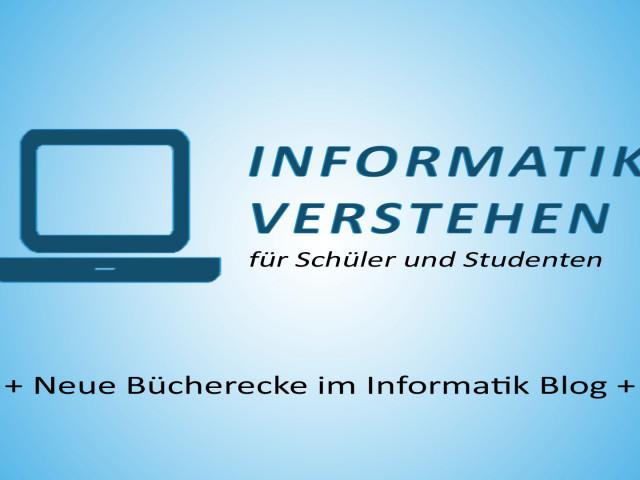 Neue Bücherecke auf Informatik-verstehen.de | Datenbank Blog